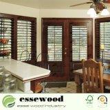 Ferrada decorativos em madeira de plantações Basswood/Janela Paulownia Obturação por Sorriso