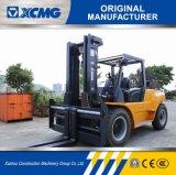 Großhandelschina-Fabrik-2-stufiger breiter Ansicht-Mast 3m 6 Tonne Isuzu Motor-Dieselgabelstapler für Verkauf