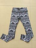 Pantalones ajustados de la impresión de Digitaces de las mujeres para la señora