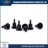 Precisión personalizada ronda hexagonal negro de cabeza hueca Tornillo mecanizado