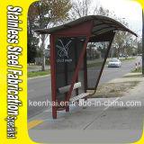 현대 스테인리스는 버스 정류소 디자인 대피소를 조립식으로 만들었다