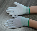 Перчатка Guantes ESD ладони PU перчатки PU ESD подходящая