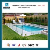Frontière de sécurité en verre Tempered de la norme 10mm Frameless de l'Australie pour la piscine