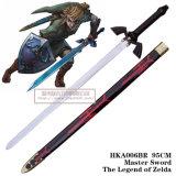 A legenda de espadas do filme das espadas de Zelda com 1:1 da bainha