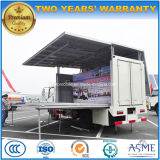 LEDパフォーマンススクリーンが付いているDongfeng 4X2の屋外段階の昇進のトラック