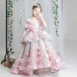Princess замкнутый роскошью Одевать фантазии платья модели девушок Litte гуляя