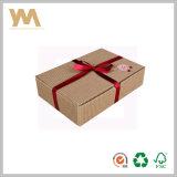 Caja decorativa con cinta