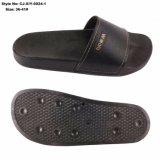 A mulher descalça slides personalizada PU chinelos Superior