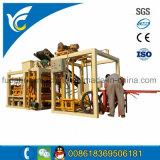 O Qt4-25 Totalmente Automática máquina de tijolos sólidos de concreto por máquinas Fuda