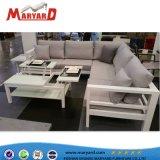高品質のアルミニウム屋外のテラスのソファーの家具のソファーセット