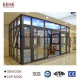 Chambres vertes en verre de Sunroom en aluminium