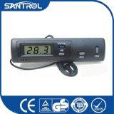 Thermomètre numérique actionné de panneau solaire