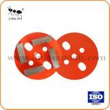 Хорошего качества 4 дюйма Diamond бетонный пол шлифовального круга/Пластины