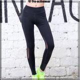 Pantalones de la yoga de las mujeres de las polainas de la yoga de las mujeres del desgaste de los deportes de la fábrica del OEM