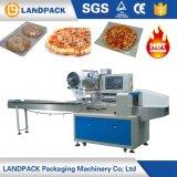Macchina per l'imballaggio delle merci rotativa di plastica di Inpack della pizza automatica piena