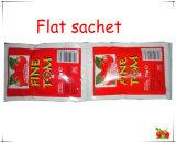 Sauce tomate de processeurs de tomate de nourriture de sachet pour le Cameroun 70g