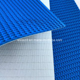 China PVC azul superior irregular cinta transportadora con el mejor precio