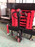 Mobile Scissor der Aufzug-(ausgebaut) maximale Plattform-Höhe 6 (M)