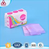 Usine de la meilleure qualité de Fujian de garniture de serviette hygiénique d'utilisation de nuit de femmes