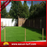 Дешевая Multicolor искусственная трава без песка для Landscaping сад