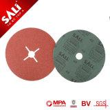 China Fabricación Sali Pulidor de metal óxido de aluminio de 0,8 mm disco de fibra