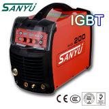 Soldadora de la industria 380V/3pH IGBT MMA de Sanyu (ARC-400 IGBT)
