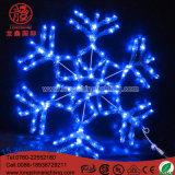 Decoratie van Kerstmis van de Kabel van de Modellering van de Vlok van de LEIDENE Sneeuw van de Fee de Lichte Lichte