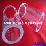 Hitzebeständigkeit-transparentes Wandstärke-fixiertes Quarzglas-Rohr
