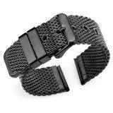 cinturino di vigilanza spesso della maglia dell'acciaio inossidabile 2-Piece