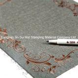 Clinquant d'estampage chaud d'or estampant le matériau pour la décoration