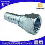 26711 Adaptador de manguera hidráulica JIC hembra y 74 grados del tubo hidráulico del cono