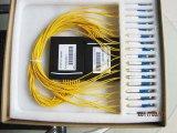 PLC van de Plastic Doos van de Telecommunicatie van Gpon 1X16 Splitser voor Pon/FTTH/CATV