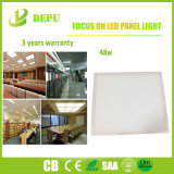 白またはスライバEMC+LVDの高性能48W 100lm/Wの平らなフレームLEDの照明灯使用されたよい材料