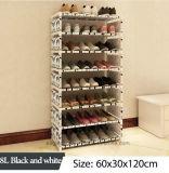 Equipamento para Engraxar os Sapatos de armário de racks de grande capacidade de armazenamento de dados móveis domésticos DIY Rack Sapata portátil simples (FS-06M)