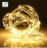 Luz flexível da corda do diodo emissor de luz do fio de cobre da carga do USB 5V