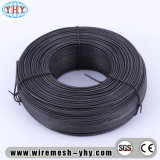 Fil noir de fer utilisé pour la maille en métal
