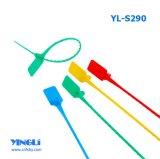 Tire de la junta de bloqueo de seguridad de plástico apretado (YL-S290)