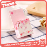 Adhesivo japonés álbum decorativos florales de color cinta Washi