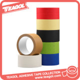 Wholesale Colored Crepe Adhesive Paper Masking Tape, Covers