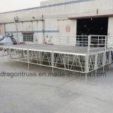 Het Draagbare Stadium van het aluminium, Beweegbaar Stadium, de Verkoop van de Vijand van het Stadium van het Triplex