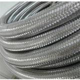 gainer tressé par isolation en métal de l'acier inoxydable 304 de 6mm/boyau
