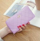 名刺の札入れの女性の長い女性札入れのジッパーのカードの財布袋のメスのハンド・バッグの女性のお金の硬貨の箱の韓国人の方法