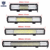 Coche de 11 pulgadas de la barra de luz LED de trabajo in situ fila Triple Combo inundaciones Offroad de conducción de la luz de lámpara para camioneta SUV