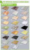 Новый фальшивый мрамор настенной панели из ПВХ пластика материала