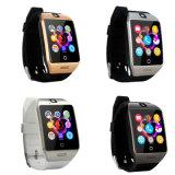 Het nieuwe Slimme Horloge van Passometer van de Manier Q18 met TF van de Camera van het Scherm van de Aanraking Kaart Bluetooth Smartwatch voor Androïde Ios Telefoon