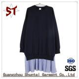 Señoras Moda suéter vestidos sudaderas con capucha