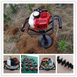Cavador de gas de excavación del orificio de poste de las máquinas del plantación de árboles