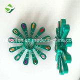 Kundenspezifischer schöner Pfau-Handspinner-Metallregenbogen-Unruhe-Finger-Spinner