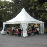 barraca do Pagoda de 5*5m com alinhamento para o casamento e o partido