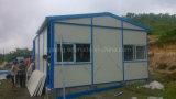 Het geprefabriceerde Lichte Huis van Mobil van het Comité van het Staal van de Structuur van het Staal Kleur Met een laag bedekte